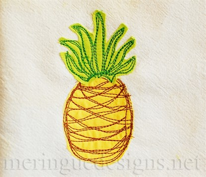 Picture of Scribbled Pineapple